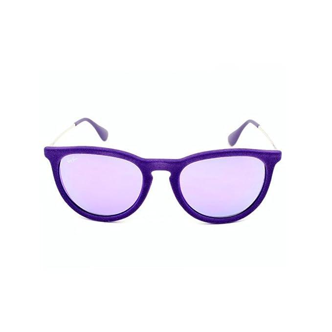 78fba1e3bb Ray-Ban RB4171 6080/4V VELVET VIOLET/Grey MIRROR Violet: Amazon.co.uk:  Clothing