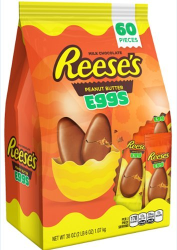 Reese's Peanut Butter Cup Eggs Easter Candy 38 Ounce Bag by Reese's