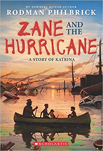 amazon zane and the hurricane a story of katrina w r