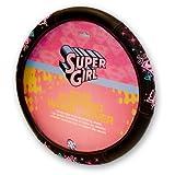 Supergirl Stars Steering Wheel Cover
