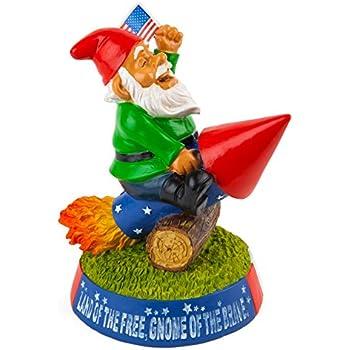 BigMouth Inc Stars N Stripes Garden Gnome
