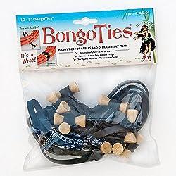 BongoTies Original Bongo Ties A5-01 ~ 10 Pack