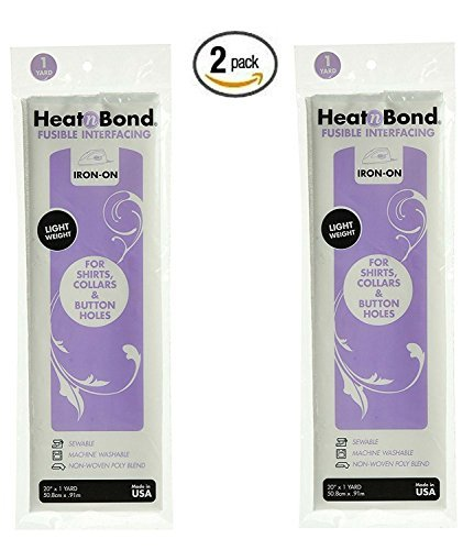 Thermoweb 3336 Heat'n Bond Light Weight Iron-On Fusible Interfacing-White 20