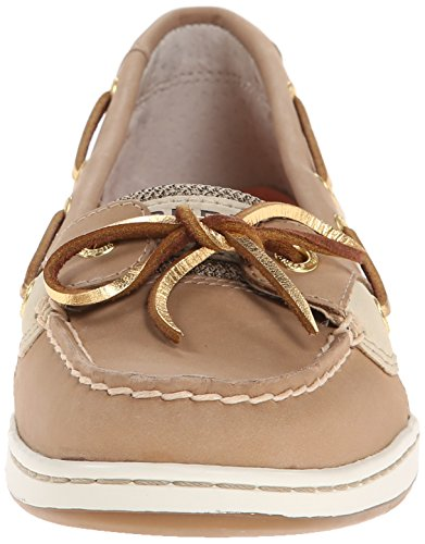 Linen Gold EU Angelfish Caning Sperry SiderAngelfish Femme Blanc 43 Caning Top xTPqx0BwaF