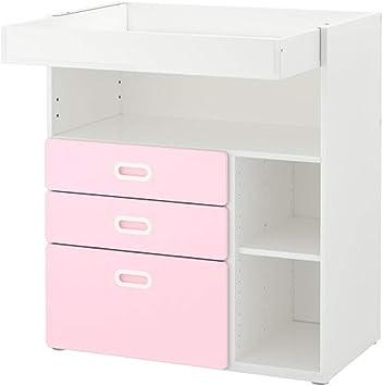 Ikea Stuva/Fritids - Mesa cambiadora con cajones, Color Blanco y ...
