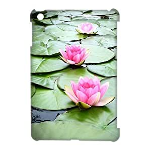 Water Lily Phone Case For iPad Mini [Pattern-1]