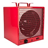 room heater red - Dr. Infrared Heater DR-988 Garage Shop 208/240V, 4800/5600W Heater with 6-30R Plug