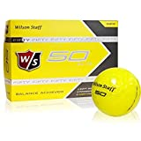 Wilson Staff Fifty Elite Yellow Golf Balls