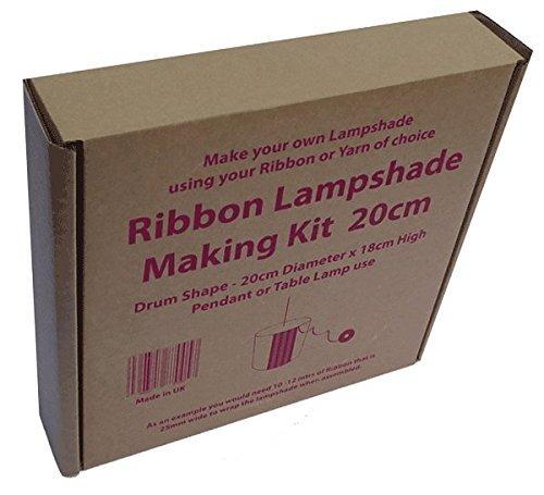 20cm ribbon lampshade making kit