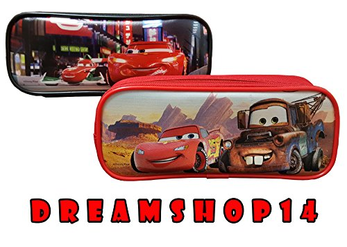 Disney's Pixar Cars Pencil Case/Pouch Design Set of 2