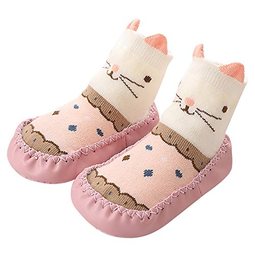 VEKDONE Unisex Baby Cute Cartoon Socks Non-skid Floor Sock for Newborn Toddlers from VEKDONE Shoes