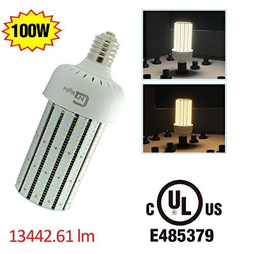 100 Watt Metal Halide Wall Pack Flood Light Fixture - 6