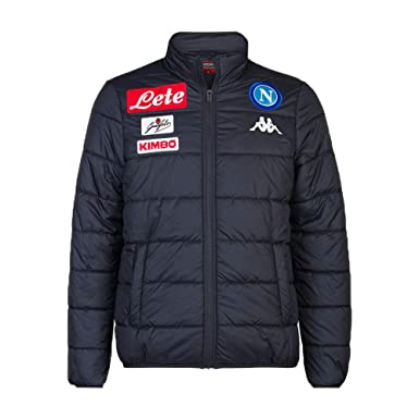 f609cf3b80a Amazon.com: Kappa SSC Napoli Light Down Jacket 2018-2019 Original ...