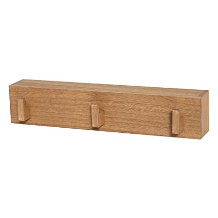 QZz Home® Percha de Pared de Madera Perchero Estante de ...