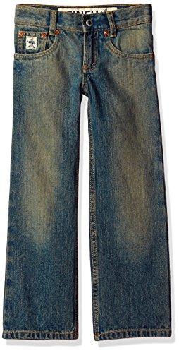 Cinch Boys' Big Low Rise Slim Jean, Medium Stone Wash with Tint, - Rise Wash