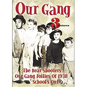 Amazoncom Our Gang 3 Shorts Bear Shooters Schools Out