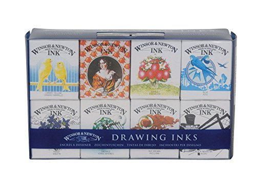 Winsor & Newton Drawing Ink - Henry Collection Pack (Windsor Newton Calligraphy)