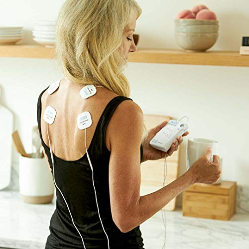 DR-HO'S Pain Therapy System TENS Unit and EMS for Pain Relief and Full Body Pain Management - Basic Package (Includes 8 Small Gel Pads and More) and 1 Year Warranty