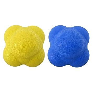 LIOOBO Bola de Reacción de 2 Piezas de Pelota de Reacción Bola de ...