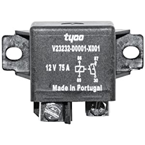 tyco br 5000 75 amp high current relay car. Black Bedroom Furniture Sets. Home Design Ideas