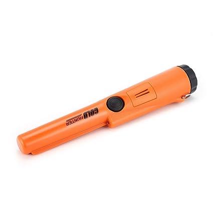 Escáner subterráneo del buscador de detector de metales Pinpointer profesional Gold Hunter (Color: naranja