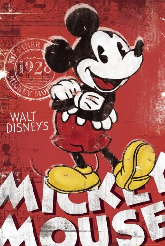 classic mickey mouse poster - 6