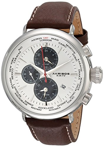 Cream Dial Brown Leather - 2
