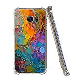 Neivi Compatible Phone Case for Samsung Galaxy S7 S7 Edge Replacement for Ultra Slim Protective Clear Soft TPU Reinforced Corners(Samsung Galaxy S7, Colorful)
