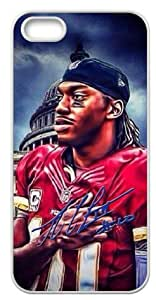 Accurate Store NFL Washington Redskins Robert Griffin III Iphone 5,5S TPU Case Cover