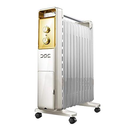 Calentador Chunlan Calefacción eléctrica Aceite, 13 radiadores, Alta Potencia, Calor Grande, Ahorro