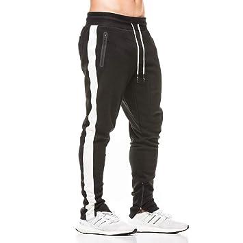 donhobo - Pantalones de chándal para hombre con bolsillos con ...