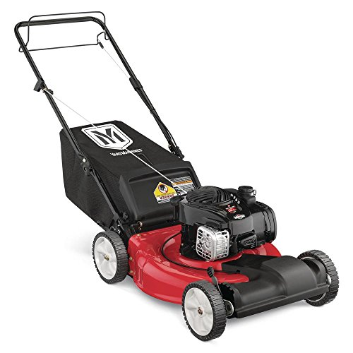 21 in. 140 cc OHV Briggs & Stratton Self-Propelled Walk-Behind Gas Lawn Mower by Yard Machines