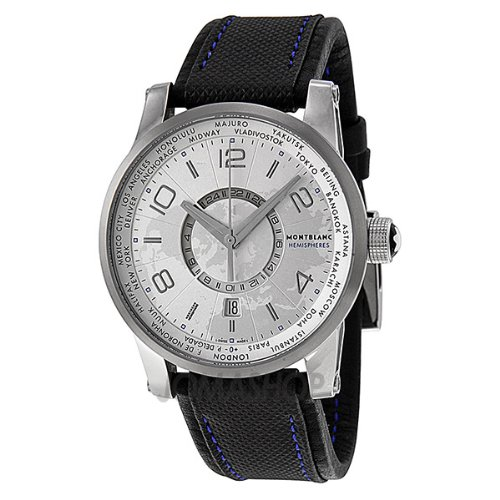 Amazon.com: Montblanc Timewalker World-Time Hemispheres Automatic Mens Watch 108955: Montblanc: Watches
