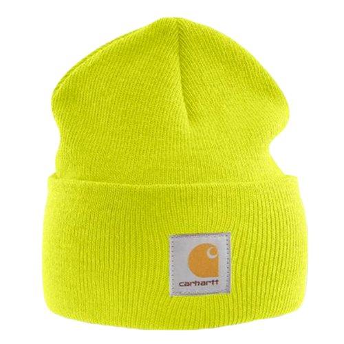Gorra Carhartt Esquiar Logotipo Acrílico CHA18BLM Sombrero Gorra de Amarillo RqxwFT