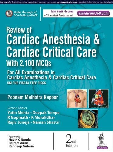 Download ebook review of cardiac anesthesia with 2100 mcqs pdf review of cardiac anesthesia with 2100 mcqs poonam malhotra kspoor on amazon com free shipping on qualifying offers this new edition has been fully revised fandeluxe Images