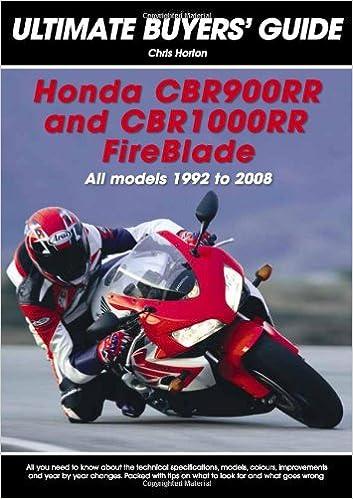 Honda Cbr900rr Cbr 1000rr Fireblade All Models 1992 2008