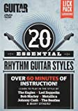 Guitar World -- 20 Essential Rhythm Guitar Styles: Learn to Play in the Styles of The Eagles, Led Zeppelin, Metallica, Bob Marley, Johnny Cash, The Beatles, and Many Others! (DVD) by Alfred Publishing