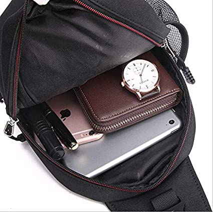 Zhou xue li Canvas Simple Casual Shoulder Messenger Bag