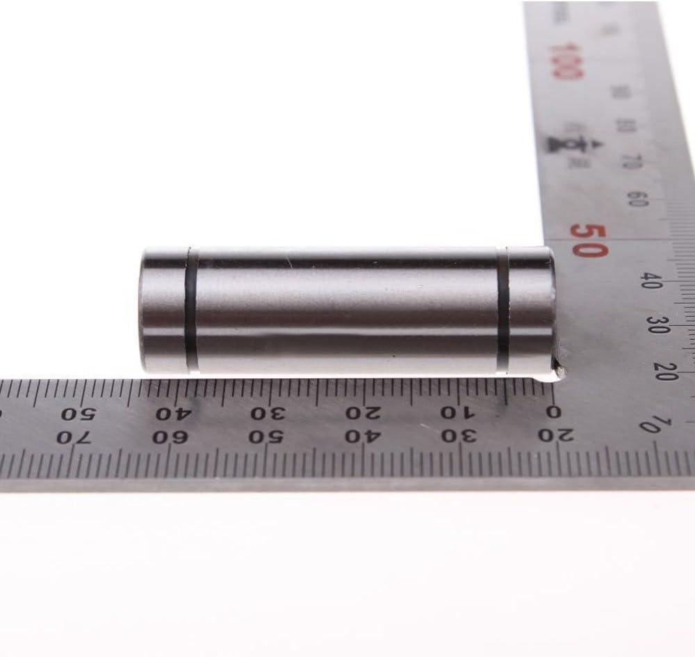 pack of 4 Linear Motion Ball Bearings 8mm Inner Diameter Sealed Long Type LM8LUU 8x15x45 mm CNC Bearings
