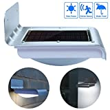 16 LED Solar Power Motion Sensor Garden Security Lamp Outdoor Waterproof Light Review
