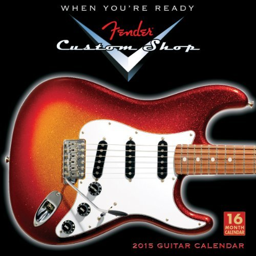 fender custom shop 2015 calendar - 7