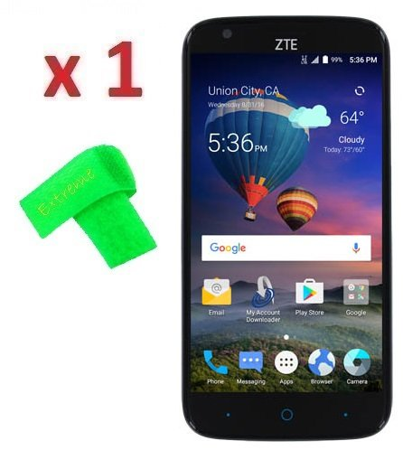Amazon 1 X ZTE ZMax Grand LTE Z916BL Screen Protector Guard CLEAR PRE CUT No Cutting Require Perfect Fit EXTREME BRAND Clear