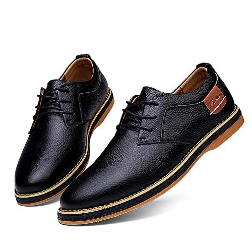 Uomo casual Rosegal Up nere Scarpe Dress formali Shoes Lace RZxHxnqUF