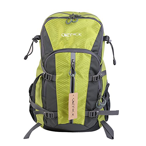 ONEPACK Water Resistant Hiking Backpack 40L