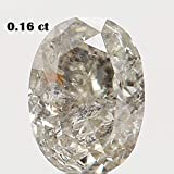 Narshiha Natural Loose Diamond Oval I Color I3 Clarity 3.60X2.70X1.90 MM 0.16 Ct N7256
