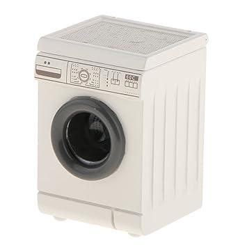 Sharplace 112 En Miniatura Casa De Baño Decoración Muñeca Electrodomésticos Lavadora nOPkwX0N8