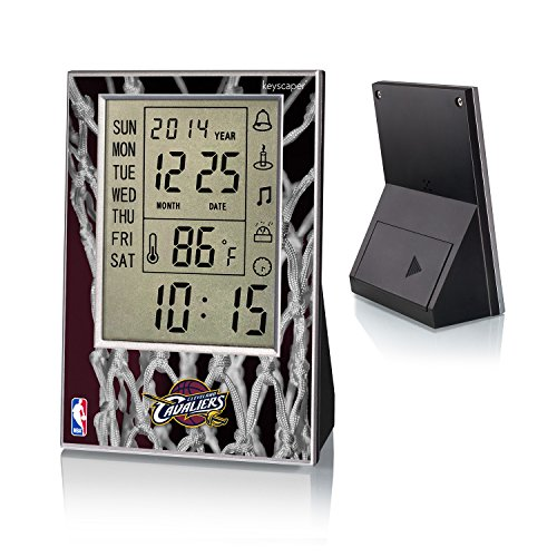 Cleveland Cavaliers Desk Clock Licensed by the NBA