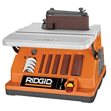 Factory-Reconditioned Ridgid ZREB4424 3/8 HP Oscillating Edge Belt/Spindle Sander