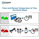 ECCPP Timing Belt Water Pump Kit Fits for Volvo C70 S40 S60 S80 V40 V50 V70 XC70 XC90