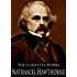 The Complete Works of Nathaniel Hawthorne (132 Books and Short Stories): Fanshawe, The Scarlet Letter, Wonder-book For Girls And Boys, The Ghost Of Doctor Harris and More